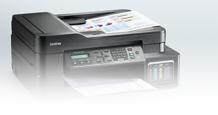 Convenient Scanning, Copying and Faxing