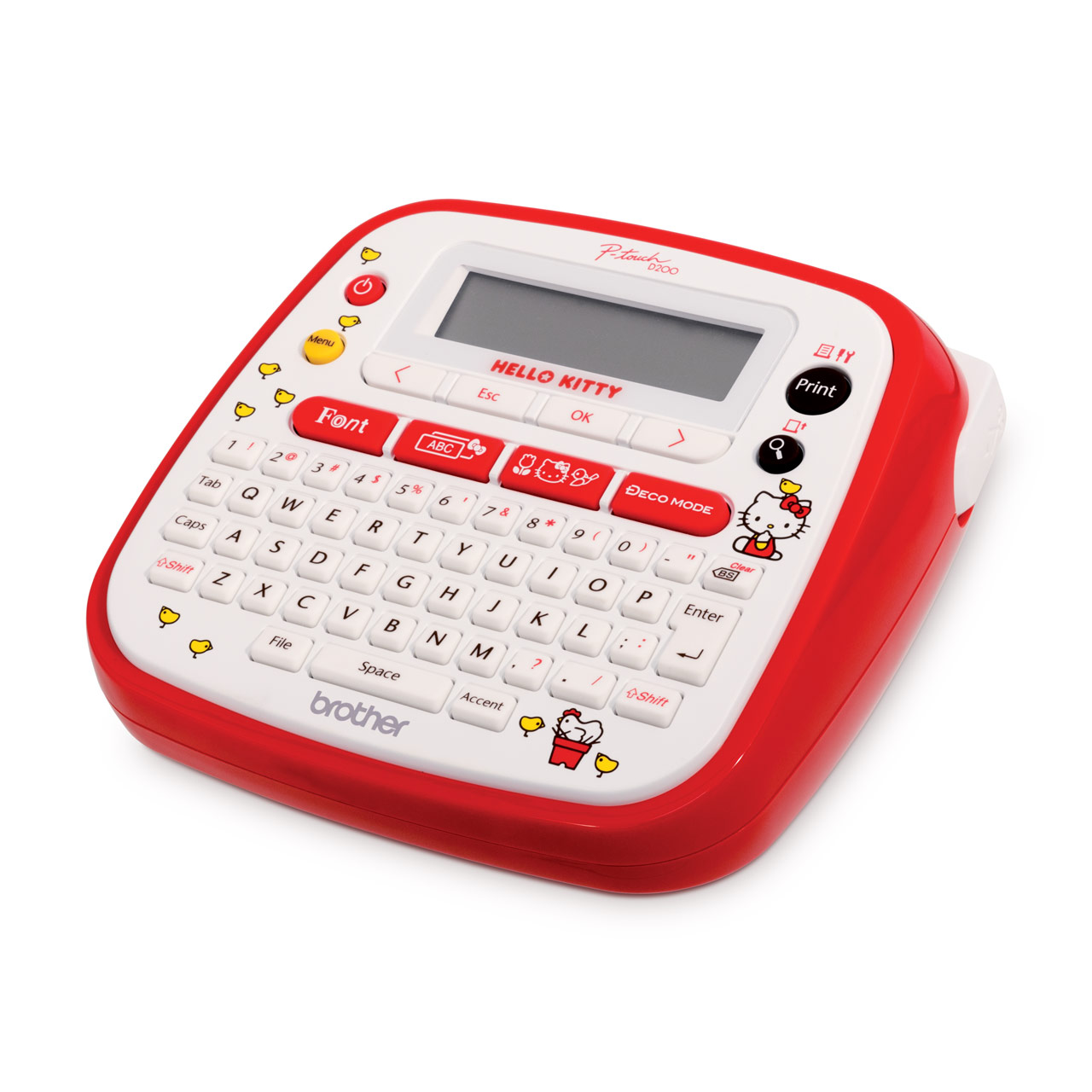 Pt D200kt Label Printer With In Built Hello Kitty Symbols And Frames